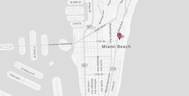 South Beach Map & Directions | Kimpton Surfcomber Hotel on big south map, sun belt map, conference usa map, c-usa map, mountain west map,