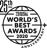 Travel + Leisure Award for Top 15 Resort Hotels in Greater Miami Beach