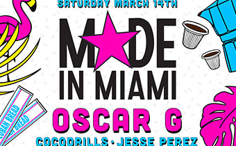 Miami Music Week Poster - March 18